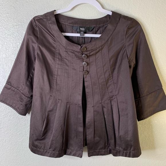 Mossimo Supply Co. Jackets & Blazers - Mossimo brown blazer, size XS